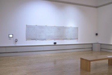 Impressit exhibition, Harris Gallery. Installation by Magda Stawarska