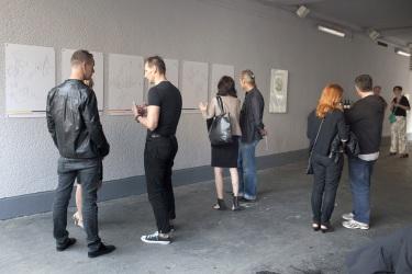 MAGDA STAWARSKA-BEAVAN  Iz Krakova v Benetke v 12 urah  Sonoretum Galerija Kapelica  Ljubljana
