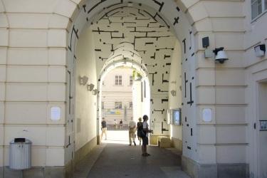 Tonspur Passage Vienna exhib 3Sm